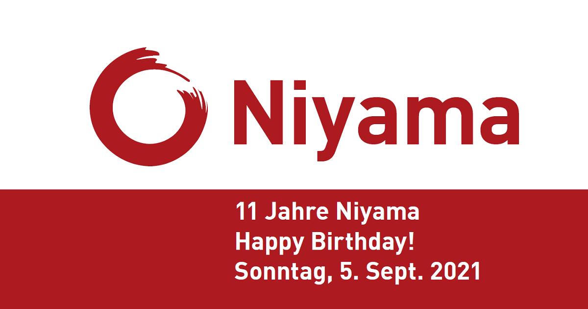 11 Jahre Niyama - Happy Birthday!